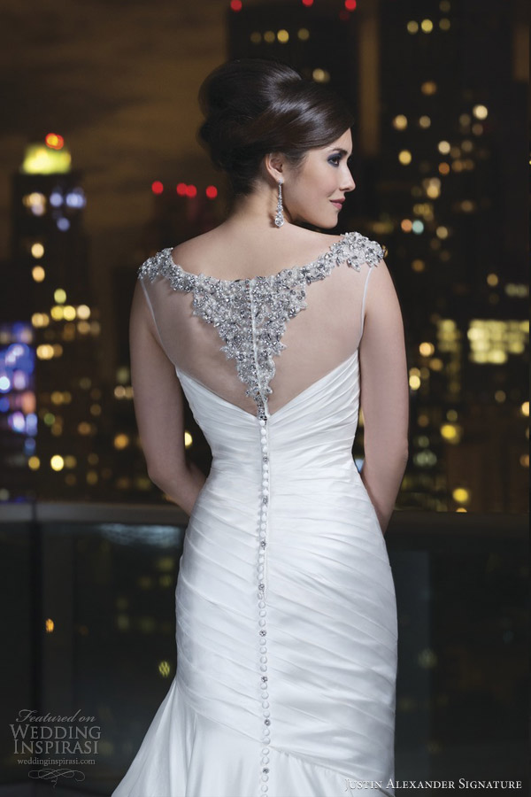 justin-alexander-signature-2014-wedding-dress-style-9725-beaded-illusion-neck-back-detail-close-up